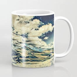 Oriental Hillside Coffee Mug