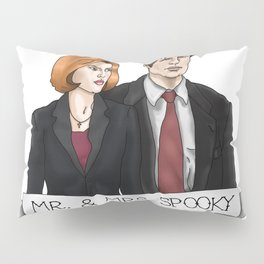 MR& MRS SPOOKY Pillow Sham