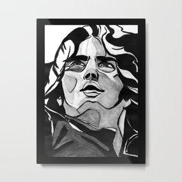 Mann Portrait  Metal Print