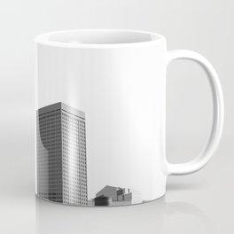 Minneapolis Minnesota Black and White Skyline Coffee Mug