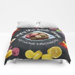 Eat more macarons Comforters