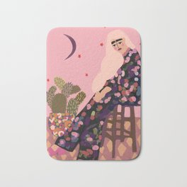 Blonde Fashionista Bath Mat