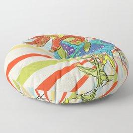 Butterfly Summers Floor Pillow