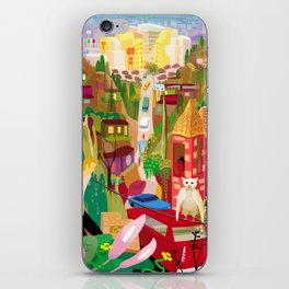 Playboys and Geishas in Old Los Angeles iPhone Skin