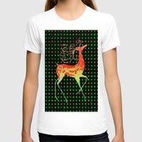 reindeer T-shirts featuring Reindeer by Saundra Myles