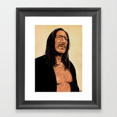 Danny Trejo Framed Art Print