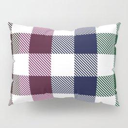 Flannel Grid Stripes  Pillow Sham