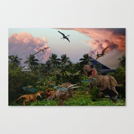 Jurassic World Canvas Print
