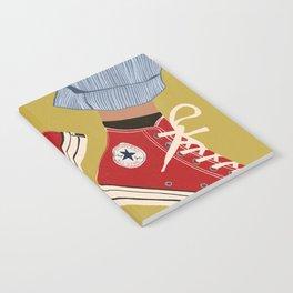 Red Converse Sweet Kicks Notebook
