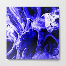Abstract Art Digital Painting Metal Print