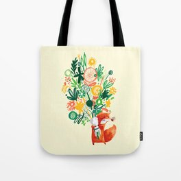 Flower Delivery Tote Bag