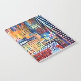 New York buildings Notebook