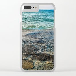 Georgian Bay #4 Clear iPhone Case