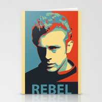 rebel Stationery Cards featuring Rebel by Sparks68