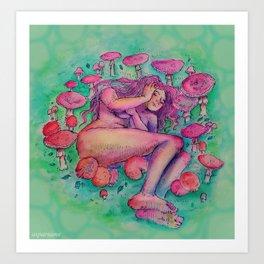 fairy rings Art Print