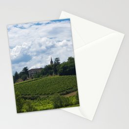 vineyards in France Stationery Cards