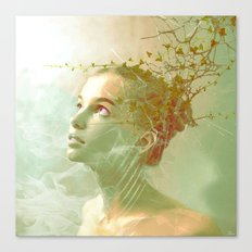 The spirit of the forgotten clearing Canvas Print