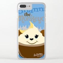 Monanna the Monkeycake - Cupcake Critters Clear iPhone Case