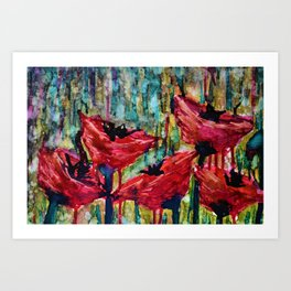 Poppy Field Art Print