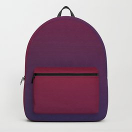 DESTINATION - Minimal Plain Soft Mood Color Blend Prints Backpack