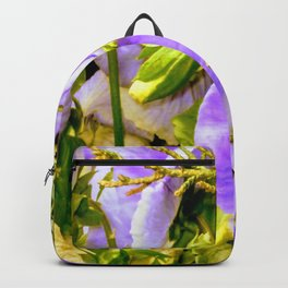 Purple is Passion Big Blooms Backpack