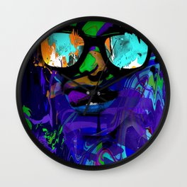 Burning Bright Wall Clock