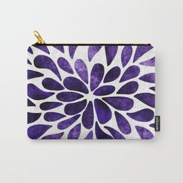 Petal Burst Ultra Violet Carry-All Pouch