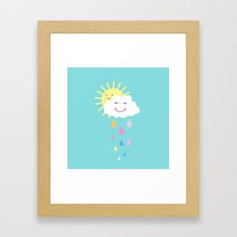 Happy Spring Days  Framed Art Print
