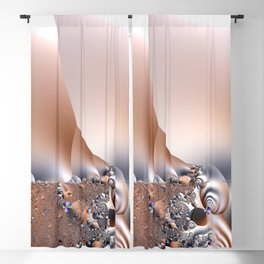 Abstract organisms of a dreamscape Blackout Curtain