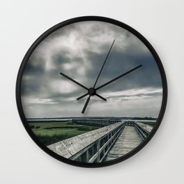 Man In The Clouds Wall Clock