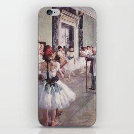 The Ballet Class- Edgar Degas iPhone Skin