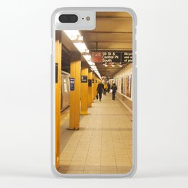 5th ave Clear iPhone Case