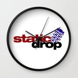 Static drop v4 HQvector Wall Clock