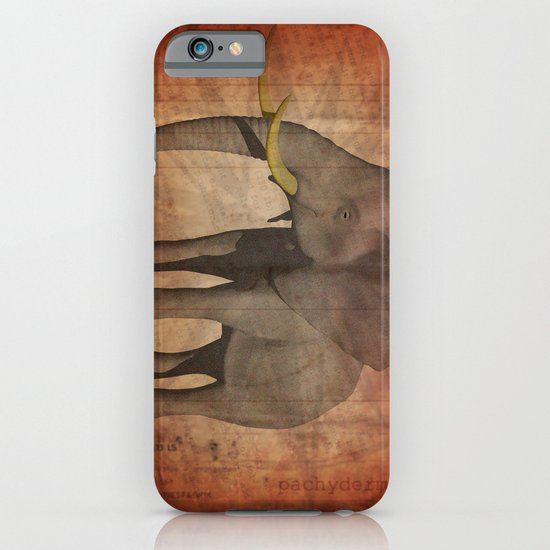 Pachydermy iPhone & iPod Case