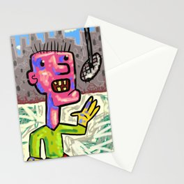 street opera Stationery Cards