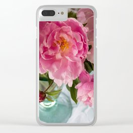 Vibrant Bouquet Clear iPhone Case