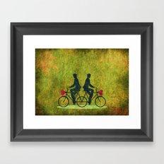 Stucked Love Framed Art Print