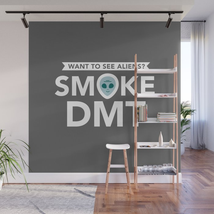 Smoke DMT Wall Mural