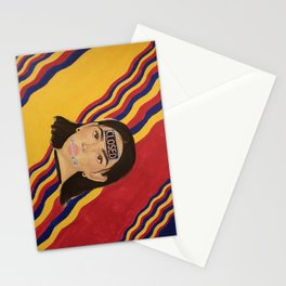 Silent Pain Stationery Cards