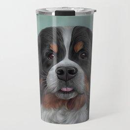 Drawing Bernese Mountain Dog 6 Travel Mug