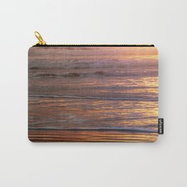 Perfect Tropical Beach Sunset Waves - Nature Photography Carry-All Pouch