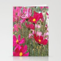 cosmos Stationery Cards featuring Cosmos by Cherie DeBevoise