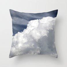 Cumulus Clouds Throw Pillow