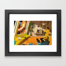 Big Bang is On Framed Art Print