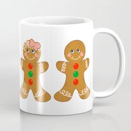 Gingerbread Couple Boy Girl Coffee Mug