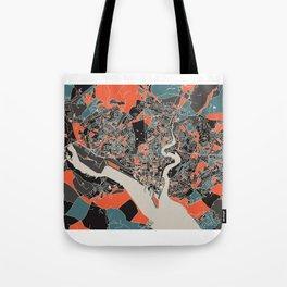 Southampton Multicoloured Print Tote Bag