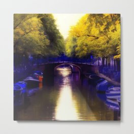 A small bridge Metal Print