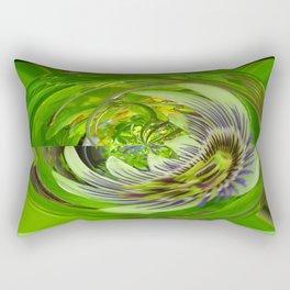 Green Hope by Gabriele Müller Rectangular Pillow