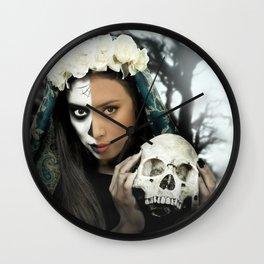 Dia de los Muertos 3 Wall Clock