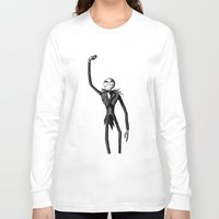 jack skellington Long Sleeve T-shirts featuring Jack Skellington  by jonhathansimion